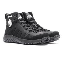 Купить Мужские ботинки на меху Pitbull черные в Украине