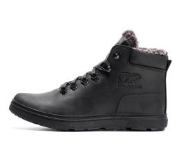 Купить Мужские ботинки на меху Polar Bear черные