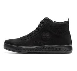 Купить Чоловічі черевики зимові Timberland чорні