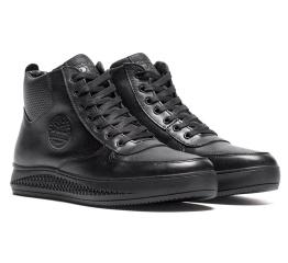 Купить Чоловічі черевики зимові Timberland чорні в Украине