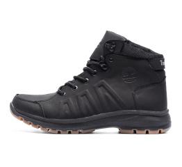 Купить Мужские ботинки на меху Timberland черные