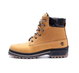 Купить Мужские ботинки на меху Timberland светло-коричневые