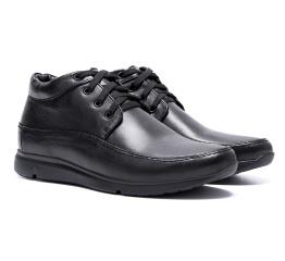 Купить Мужские ботинки на меху VanKristi черные в Украине