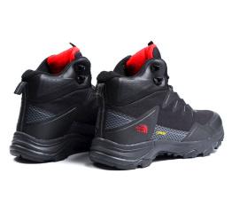 Мужские ботинки The North Face черные с красным