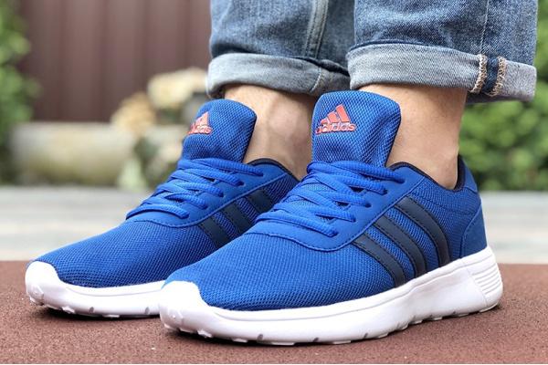 Мужские кроссовки Adidas голубые
