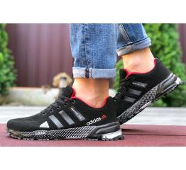 Купить Чоловічі кросівки Adidas Marathon TR 26 чорні з червоним
