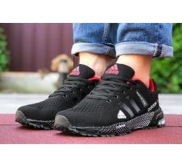 Купить Чоловічі кросівки Adidas Marathon TR 26 чорні з червоним в Украине