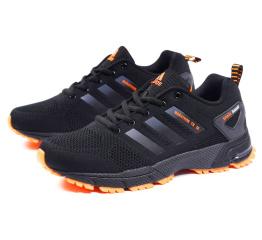 Купить Чоловічі кросівки Adidas Marathon TR 26 чорні з помаранчевим (black-orange)