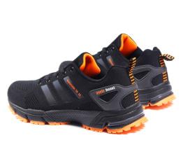 Мужские кроссовки Adidas Marathon TR 26 черные с оранжевым (black-orange)
