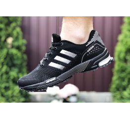 Купить Чоловічі кросівки Adidas Marathon TR чорні з білим в Украине