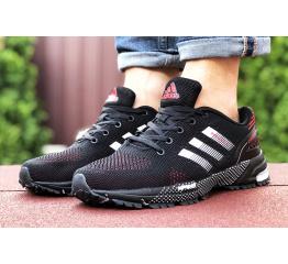 Купить Мужские кроссовки Adidas Marathon TR черные с красным