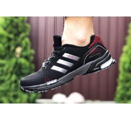 Купить Чоловічі кросівки Adidas Marathon TR чорні з червоним в Украине
