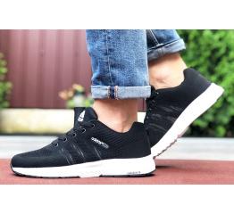 Купить Мужские кроссовки Adidas Neo черные с белым