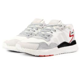 Купить Мужские кроссовки Adidas Nite Jogger BOOST белые
