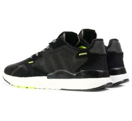 Купить Чоловічі кросівки Adidas Nite Jogger BOOST чорні в Украине