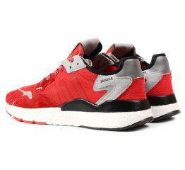 Купить Мужские кроссовки Adidas Nite Jogger BOOST красные в Украине