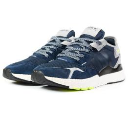 Купить Мужские кроссовки Adidas Nite Jogger BOOST темно-синие
