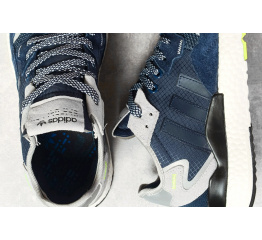 Купить Мужские кроссовки Adidas Nite Jogger BOOST темно-синие в Украине