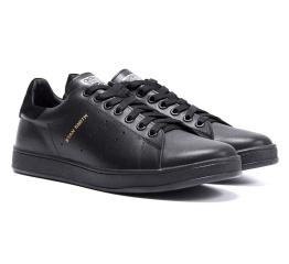 Купить Мужские кроссовки Adidas Stan Smith черные в Украине