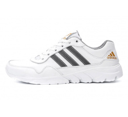 Мужские кроссовки Adidas Tech Flex белые (white)