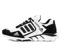 Купить Мужские кроссовки Adidas Terrex белые с черным (white-black)
