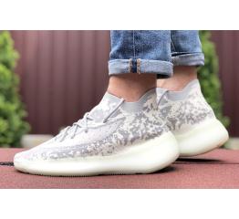 Купить Чоловічі кросівки Adidas Yeezy Boost 380 сірі в Украине