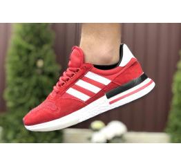 Купить Мужские кроссовки Adidas Zx 500 RM красные в Украине