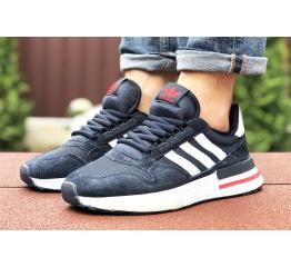 Купить Мужские кроссовки Adidas Zx 500 RM темно-синие