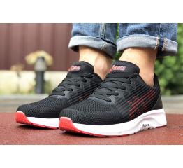 Купить Чоловічі кросівки Asics S600 чорні з червоним в Украине