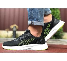 Купить Чоловічі кросівки Asics S600 чорні з зеленим