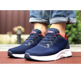 Купить Чоловічі кросівки Asics S600 темно-сині з білим и красным в Украине