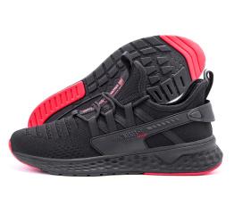 Купить Мужские кроссовки BaaS Trend System черные с красным (black-red)