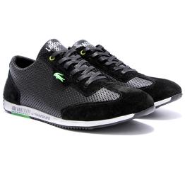 Купить Мужские кроссовки Lacoste черные в Украине