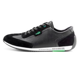 Купить Мужские кроссовки Lacoste Lerond черные (black)