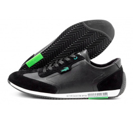 Купить Мужские кроссовки Lacoste Lerond черные (black) в Украине