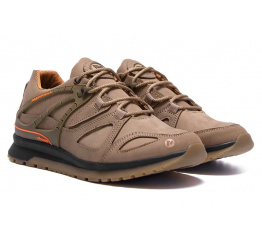 Купить Чоловічі кросівки Merrell коричневі в Украине
