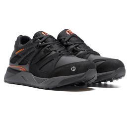 Купить Мужские кроссовки на меху Merrell черные в Украине