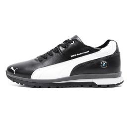 Купить Мужские кроссовки на меху Puma BMW Motorsport черные с белым