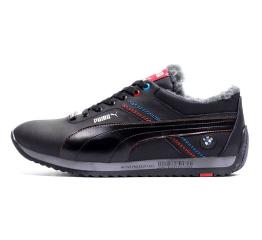 Купить Мужские кроссовки на меху Puma BMW Motorsport Fur черные