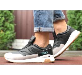 Купить Чоловічі кросівки New Balance 1500 чорні з бежевим