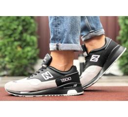 Купить Мужские кроссовки New Balance 1500 черные с бежевым