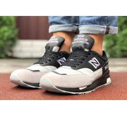 Купить Мужские кроссовки New Balance 1500 черные с бежевым в Украине