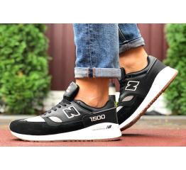 Купить Мужские кроссовки New Balance 1500 черные с серым