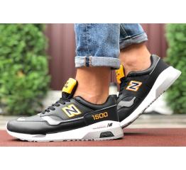 Купить Мужские кроссовки New Balance 1500 черные с желтым