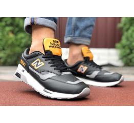 Купить Мужские кроссовки New Balance 1500 черные с желтым в Украине