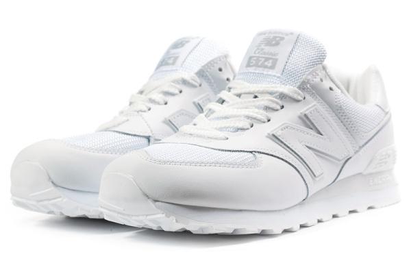 Мужские кроссовки New Balance 574 белые