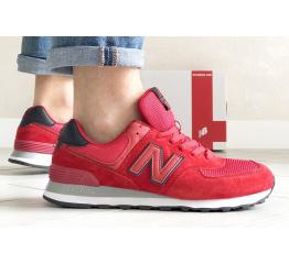 Купить Мужские кроссовки New Balance 574 красные