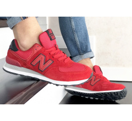 Купить Мужские кроссовки New Balance 574 красные в Украине