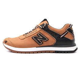 Купить Мужские кроссовки New Balance светло-коричневые (light-brown)