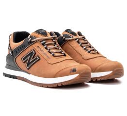 Купить Чоловічі кросівки New Balance светло-коричневі (light-brown) в Украине